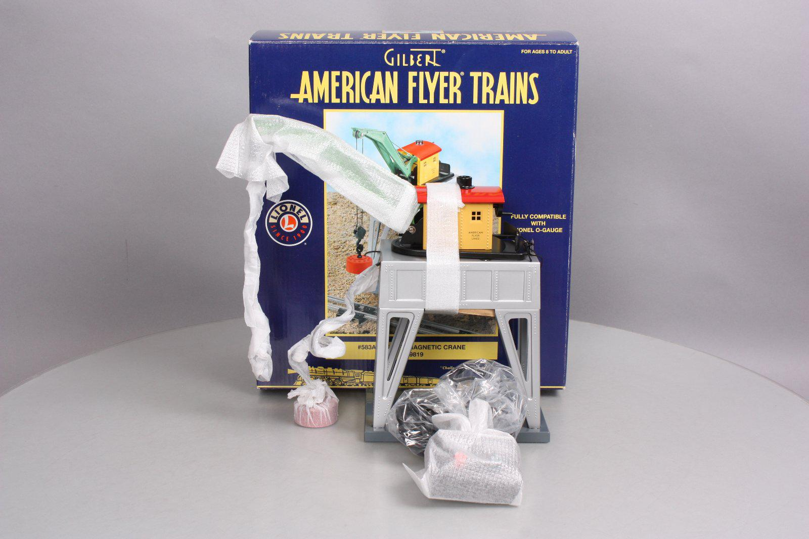 American Flyer 6-49819 S Scale Operating Electromagnetic Crane #583A