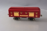 Lionel 332 Standard Gauge Vintage Baggage Car Red and Cream - Restored