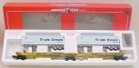 American Flyer 6-48511 S Scale Triple Crown TTUX Intermodal Car LN/Box