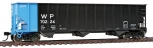 Walthers 910-65403 HO Scale ML 3-Bay Hopper WP 6/ (Pack of 6) LN/Box