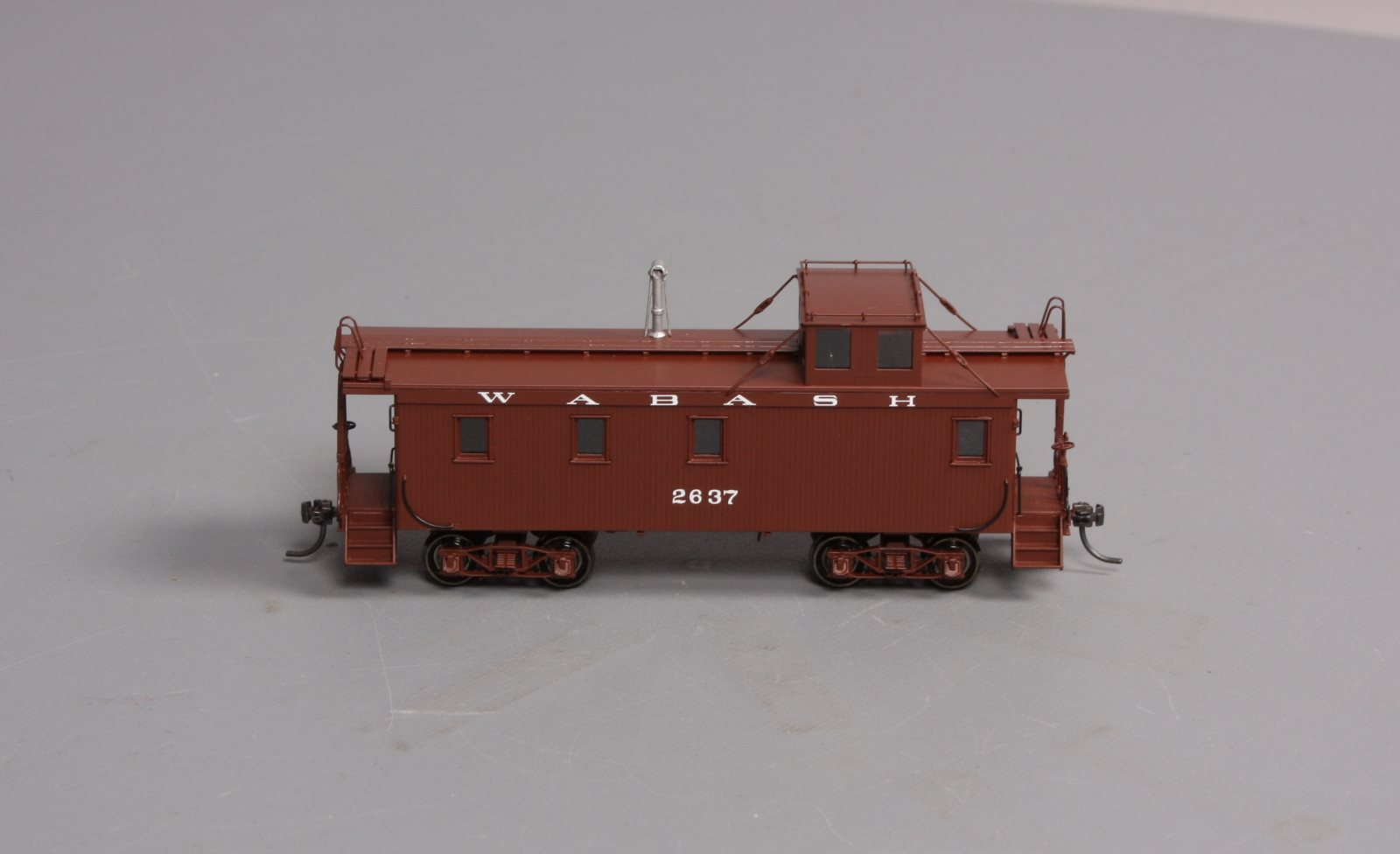 Overland 087030012.1 HO BRASS Wabash Wood-Side Caboose #2637 LN/Box  Overland 087030012.1
