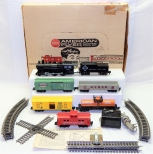 1961 American Flyer 20207 WHITES SPECIAL 4-6-2 ERIE Freight BOXED set Firestone8