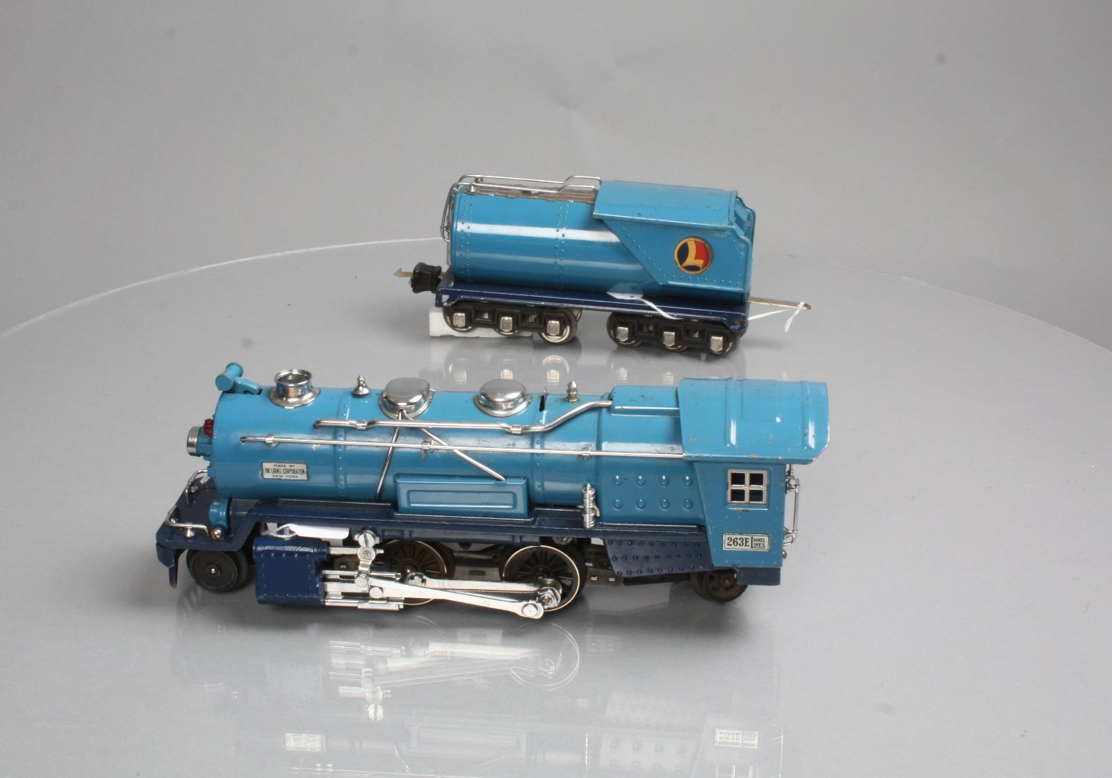 Lionel 256 Engine Exploded Diagrams Schematic Wiring Accessories Buy 263e Blue Comet Tinplate Steam Locomotive Tender Train Replacement Parts