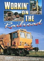 Pentrex DVD Workin on the Railroad Maintenance of Way Ballast BNSF & More 90mins