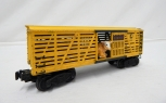 Lionel Trains Postwar 6656 Yellow cattle car w/ Armour Decal 1950-51 vintage O