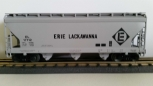 Lionel 6-17112 Erie Lackawanna ACF 3-Bay Hopper NIB