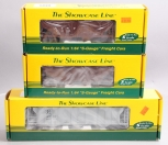S-Helper Service S Scale Assorted Freight Cars; 00759 01968, 180455 [3] LN/Box