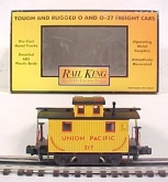 MTH 30-7729 Union Pacific Bobber Caboose LN/Box