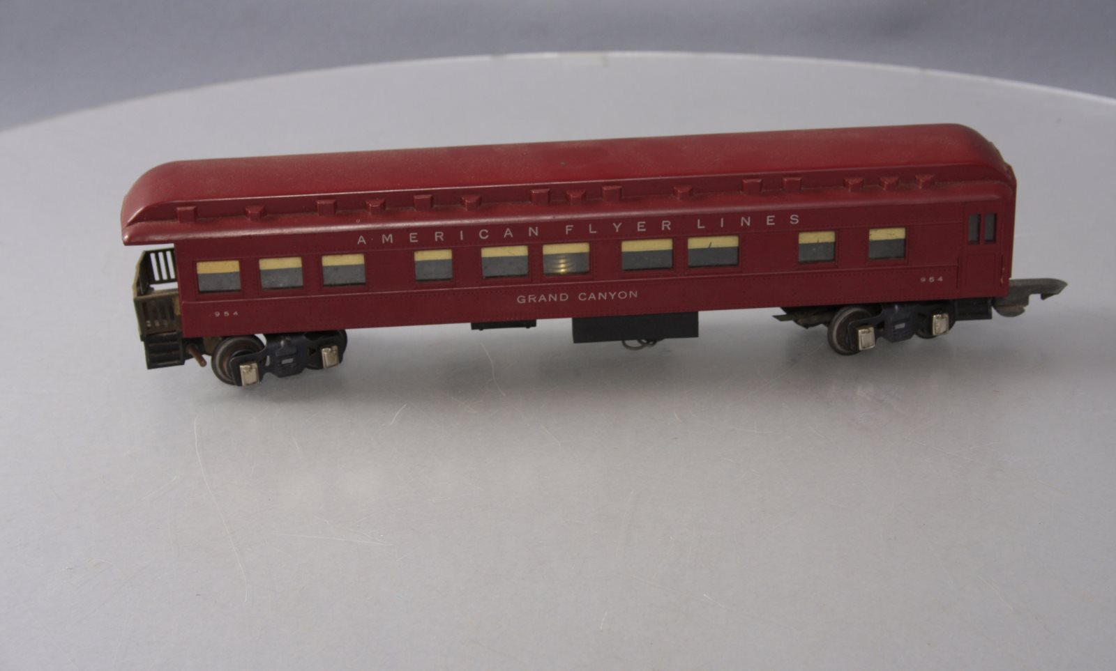 Buy American Flyer 954 Heavyweight Grand Canyon Observation Car