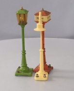 Lionel O Scale Prewar Lamp Posts: 56, 57 & 58 [3]
