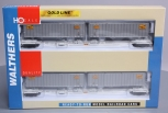 Walthers 932-23925 HO Scale New York Central Flexi-Van Flat Car 2-Pack LN/Box
