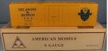 American Models 214 S Scale Delaware & Hudson Reefer Car Kit #32207 NIB