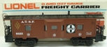 Lionel 6-9323 Famous American Railroad Series Atchison Topeka & Santa Fe Caboose