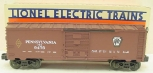 Lionel 6-9476 Pennsylvania Single Door Boxcar LN/Box