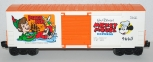 Lionel 6-9665 Disney Mickey Mouse Express PETER PAN 1977 hi cube boxcar O 027