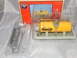 Lionel Sunoco Industrial Tank w/ connecting Platform Details Oil Storage field O
