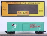 MTH 30-7419 Great Northern Rounded Roof Boxcar #27751 LN/Box