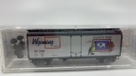 MicroTrains 21379 N Wyoming State Car 40' Standard Boxcar, Plug Door NIB