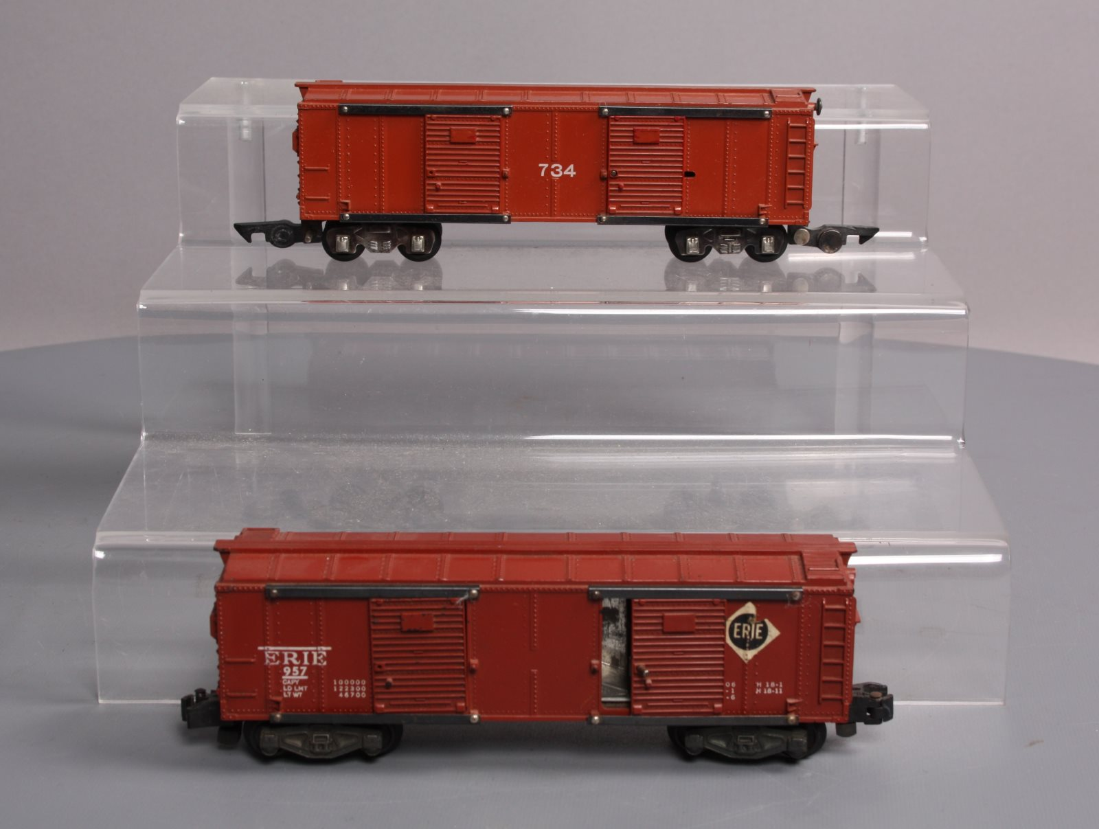 Buy American Flyer 734 Operating Boxcar & 957 Erie Operating Boxcar