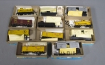 Athearn HO Scale Assorted Freight Cars; 1951-1, 1951, 5369, 465-1, 5360, 1249, 5