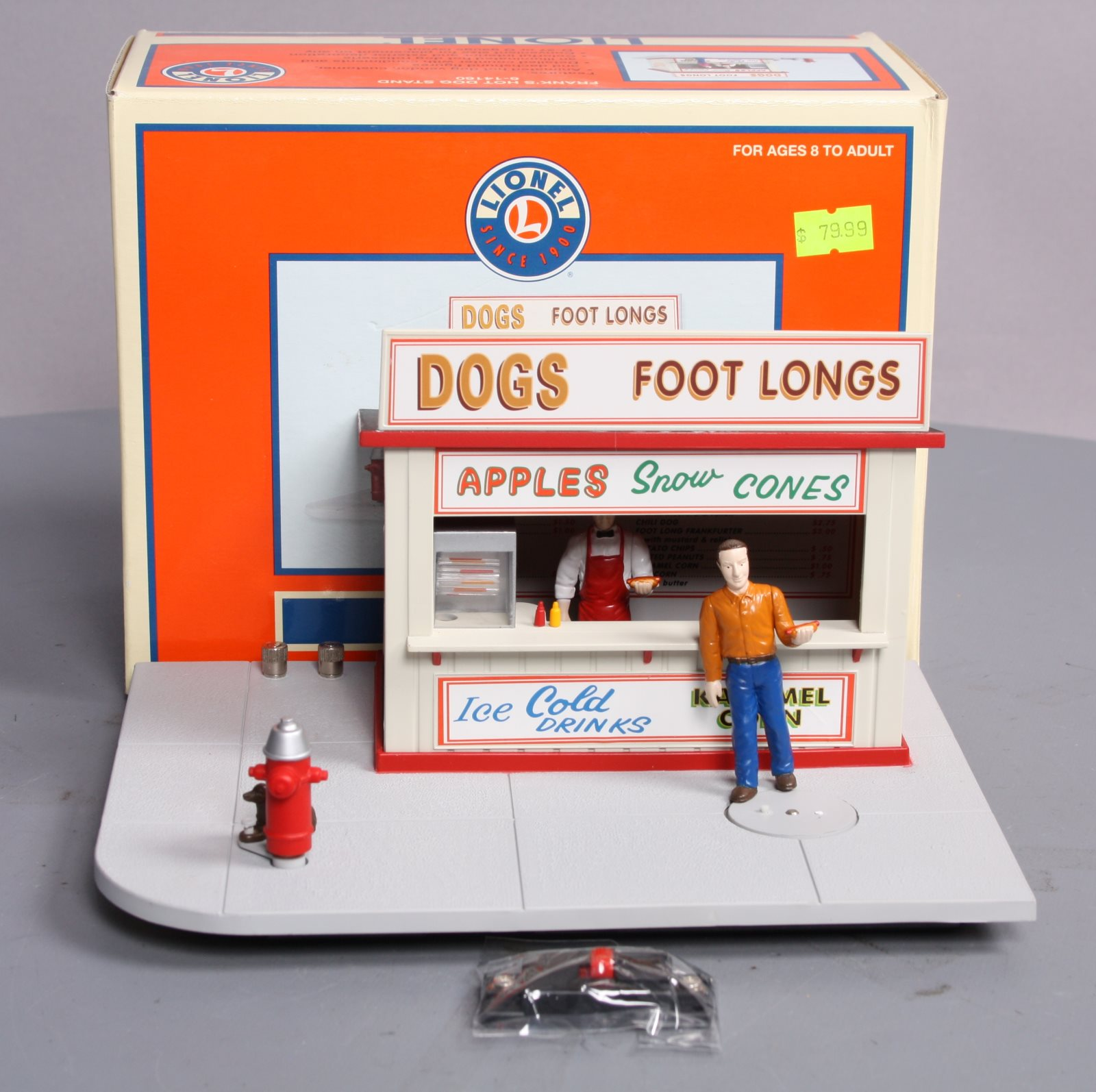 Buy Lionel 6-14160 Animated Frank's Hot Dog Stand/Box | Trainz Auctions