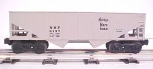 Lionel 6-6137 Nickel Plate Road Two Bay Hopper LN/Box