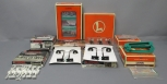 Lionel O Scale Accessories Lot: Billboards,  Lights, and Road Signs/Box