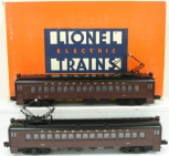 Lionel 6-18310 Pennsylvania MU Commuter Dummy Cars NIB