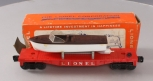 Lionel 6501 Flatcar with Jet Boat/Box