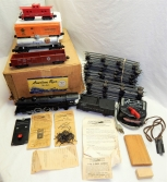 Uncatalogued 1950 American Flyer #1180 CNW Steam Freight BOXED SET Dept Store st