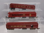 American Flyer S Gauge Postwar Heavyweight Passenger Cars: 652, 653, 653 [3]