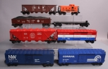 Lionel O-Gauge MPC Freight Cars: 6-9111, 6-9821, 6-9708, 6-9119 [8]