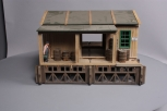 G Scale Cripple Creek Ticket Station - Assembled