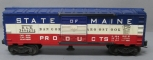 Lionel 3494-275 Type I State of Maine Operating Boxcar