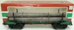 LGB 4066 Flatcar with  Log Load & Stakes EX/Box