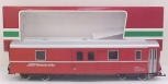 LGB 3069 RhB Red Baggage Car - Metal Wheels LN/Box