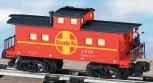 American Flyer 6-49029 S Scale Santa Fe Animated Operating Caboose NIB