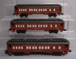 Lionel O Scale Assorted Passenger Cars; 6-9513, 6-9514, 6-9515 [3]