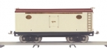 MTH 10-2049 Standard Gauge Ivory and Maroon with Brass 200 Series Reefer Car NIB
