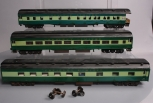 O Scale Southern Crescent Limited Custom Painted Passenger Cars - 2 Rail [3]