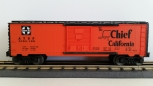 Lionel 6-19282 Santa Fe Super Chief To California 6464 Box Car #6464-196 NIB