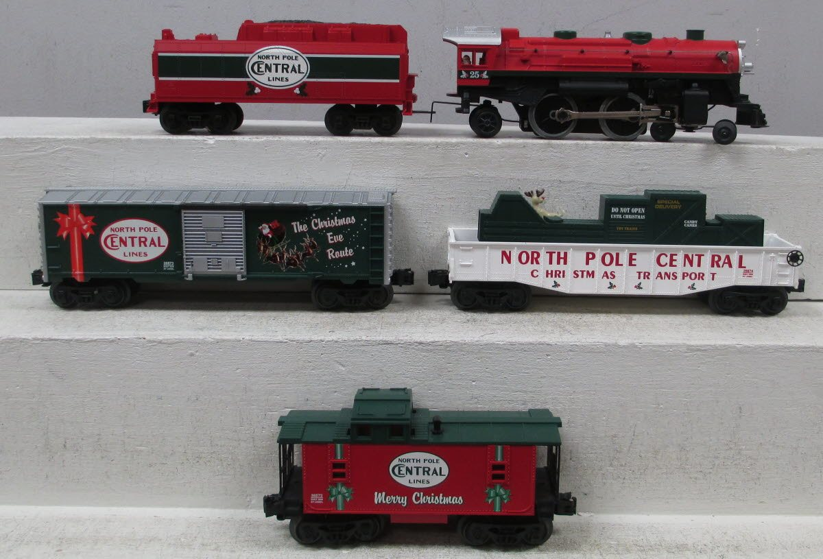 Buy Lionel 6-30020 North Pole Central Ready-To-Run Christmas Train ...