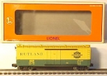 Lionel 6-19552 Rutland Std O Reefer #395 LN/Box