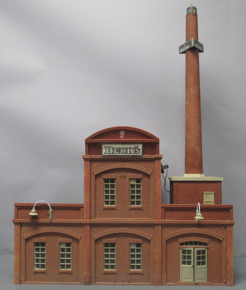 Buy Piko G Scale Brewery Company Building and Chimney | Trainz Auctions