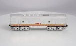 Lionel 2343C Santa Fe F-3 Louvered Top Non-Powered B Diesel Locomotive