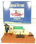 American Flyer 6-49806 S Scale Operating Sawmill LN/Box