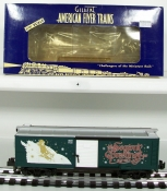 American Flyer 6-48342 S Scale 2001 Christmas Boxcar LN/Box