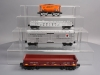 MTH O Gauge Freight Cars: 30-78137, 30-72141, 30-79453, 30-75371 (4) LN/Box
