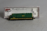 Atlas 48618 N Scale Reading GP40-2 Diesel Locomotive #3671 LN/Box