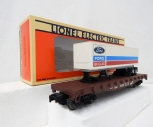 Lionel 6-17888 1991 LCCA Convention Flat Car w/ FORD NEW HOLLAND trailer load